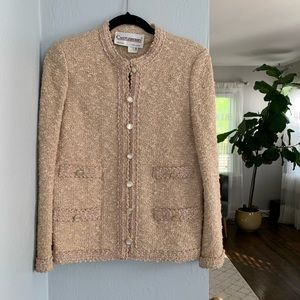 Castleberry Vintage Pink Tweed Jacket